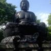 目の前にあったけど知らなかった日本で三番目の東京大仏に行ってきたよ。