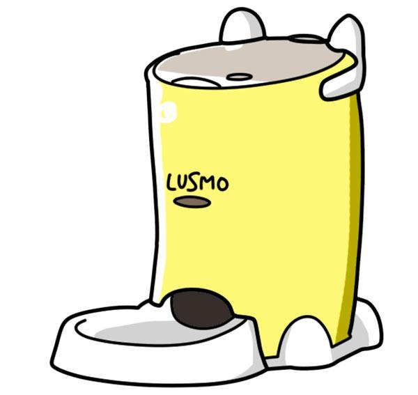 LUSMO/ルスモ イエロー自動給餌器
