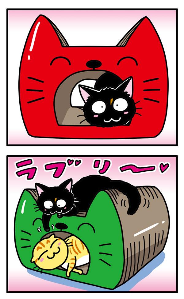 猫のつめとぎ キャットトンネル