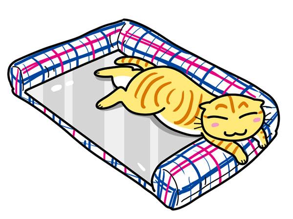 さわやかマリン プレート用ベッド