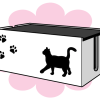 これで配線もスッキリニャ!ニャンコのいたずら防止に「猫のケーブルボックス」