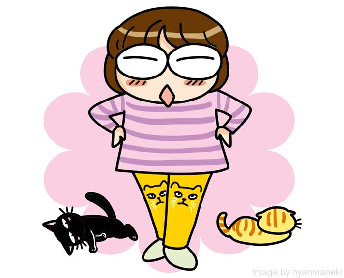 10分丈 レギパン 猫