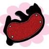 カーペット大好きなニャンコちゃんに!猫の形のオシャレな爪とぎ「つめとぎ ころりん猫さん」