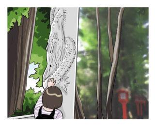 高円寺にある「登り龍」の鳥居で有名な「馬橋稲荷神社」に行って来たよ